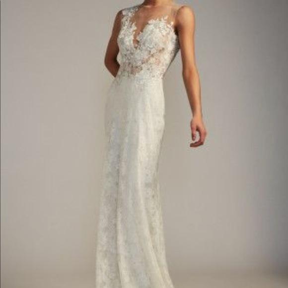 Tadashi Shoji Dresses Diandra Wedding Dress Poshmark